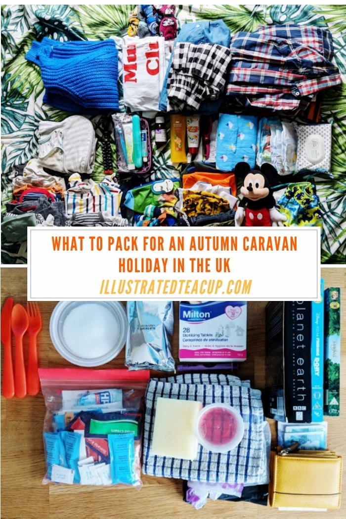 what to pack for an autumn caravan holiday