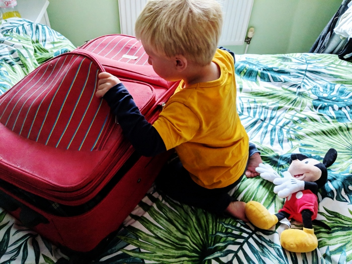 Packing for a caravan holiday